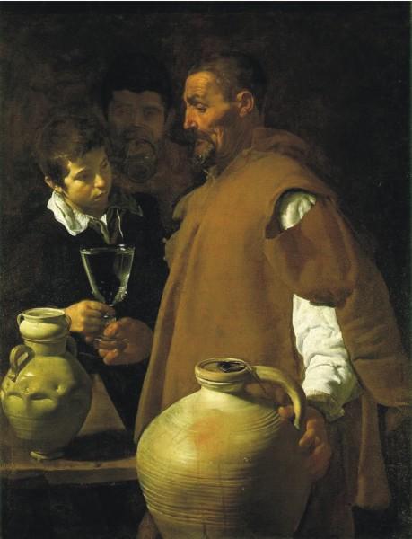 Диего Родригес Веласкес Продавец воды в Севилье. 1623